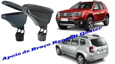 Apoio de Braço em Couro Renault Duster