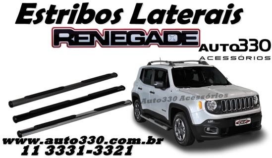 Par de Estribos Laterais Jeep Renegade - Auto330 Acessórios  (1)