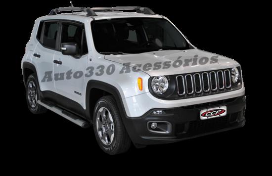 Par de Estribos Laterais Jeep Renegade - Auto330 Acessórios  (2)