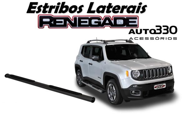 Par de Estribos Laterais Jeep Renegade - Auto330 Acessórios  (3)