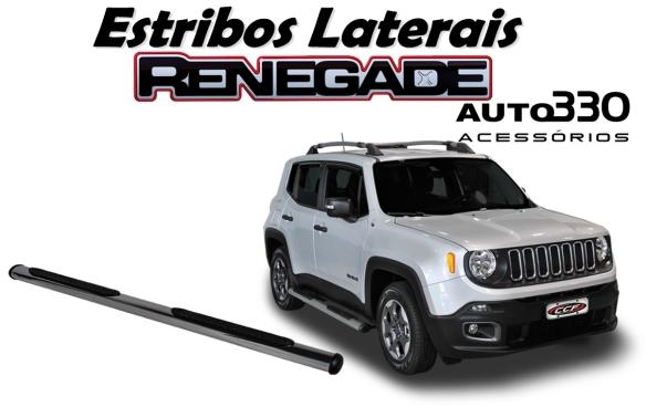 Par de Estribos Laterais Jeep Renegade - Auto330 Acessórios  (4)